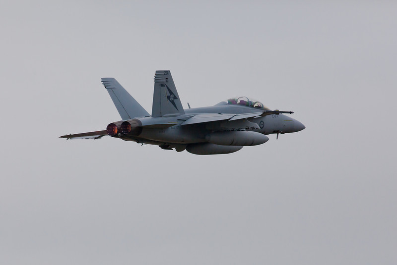 F/A-18 Super Hornet Taking Off