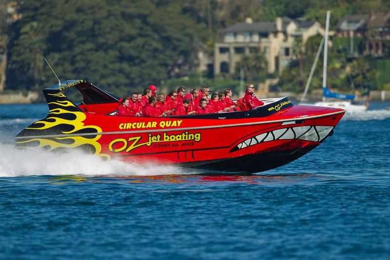 Oz Jetboating, Sydney Harbour
