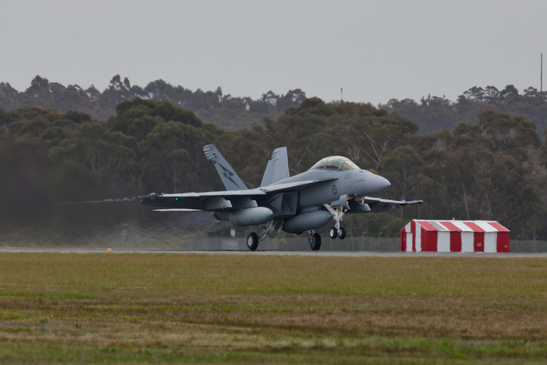 F/A-18 Super Hornet Taking Off