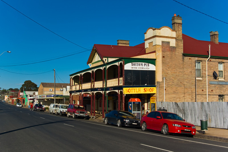 Wallerawang, New South Wales: Main Street and CBD