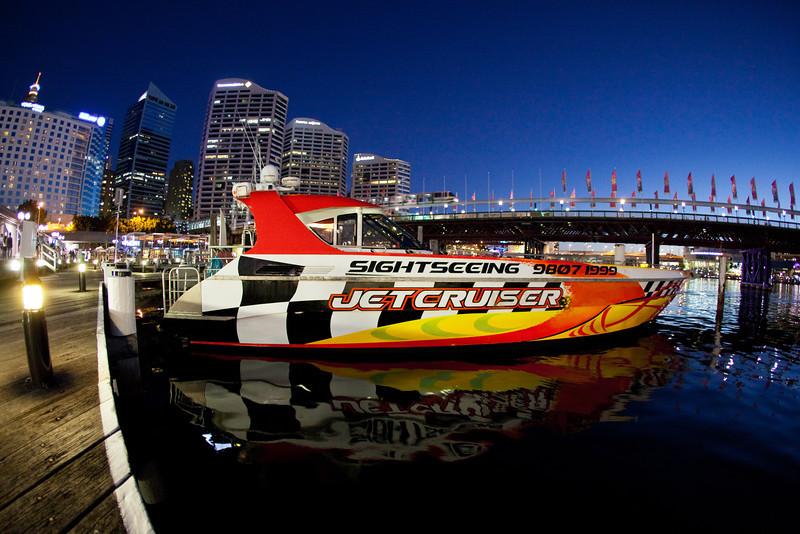 Jet Boat At Darling Harbour, Sydney