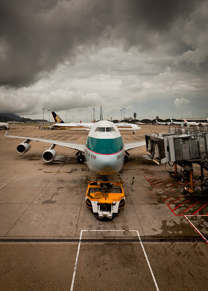 Chek Lap Kok: Rough Takeoff Imminent