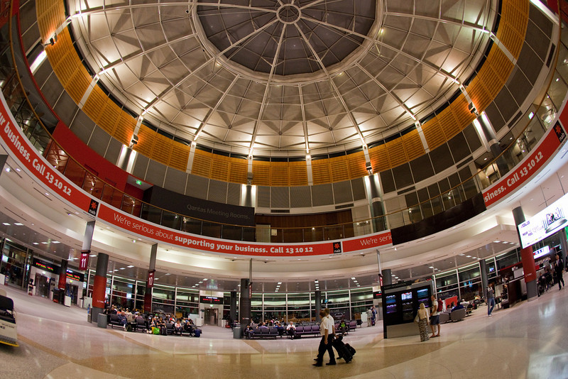 Domed Roof at Sydney Domestic Airport