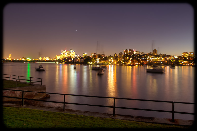 Nightscape from Kurraba Point Reserve