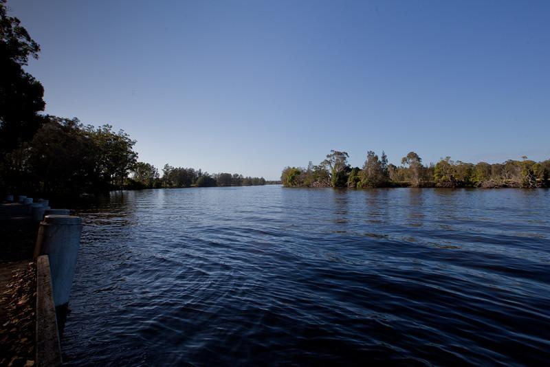 The Wallamba River in the Morning