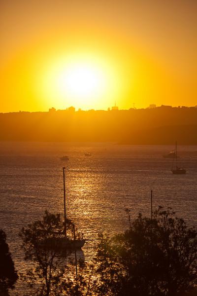 Sunset on 2010
