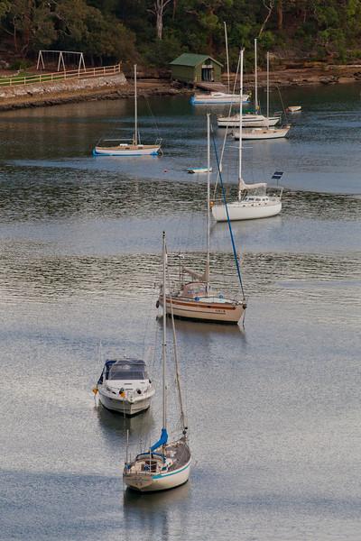 Boats in Gore Cove