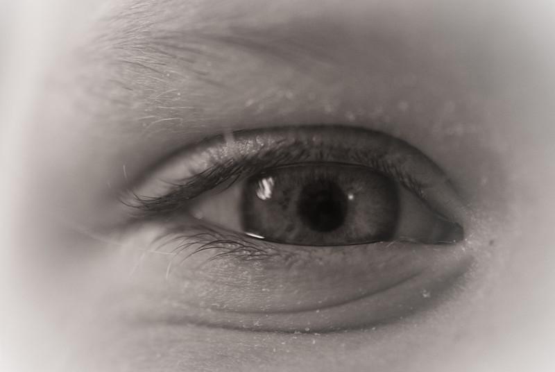 Eleanor's Eye in sepia