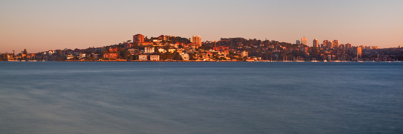 Point Piper Viewed from Bradley Head at Sunset