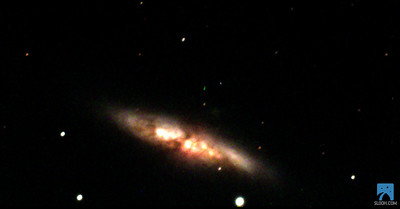 Exploding Galaxy M82