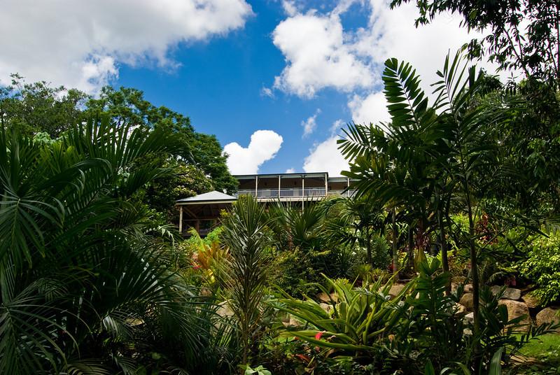 CRCT's garden and home in Bardon