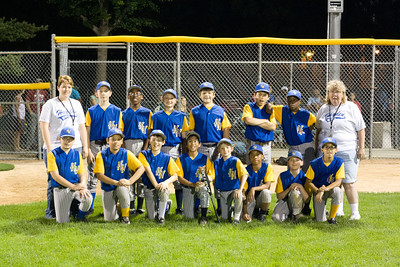 Hayden Heights 2013 12U Baseball Team