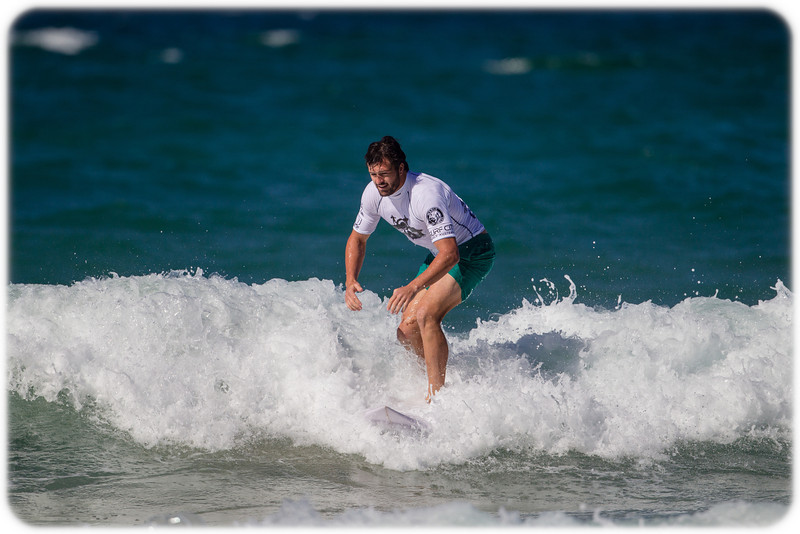 Surfers Against Suicide: NSW Waratahs Player Adam Ashley-Cooper Shcores Valuable Points for Going in a straight line.