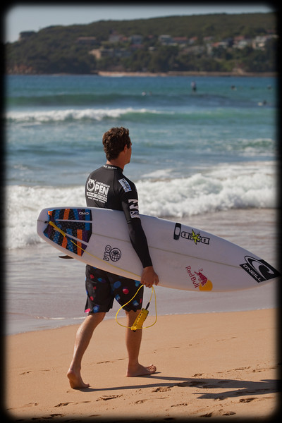 Australian Open of Surfing 2012 at North Steyne, Manly, Sydney