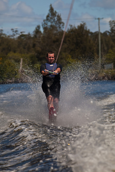 Fun on the Wallamba River