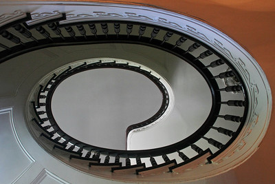 Spiral Staircase in Bartok Pell Estate