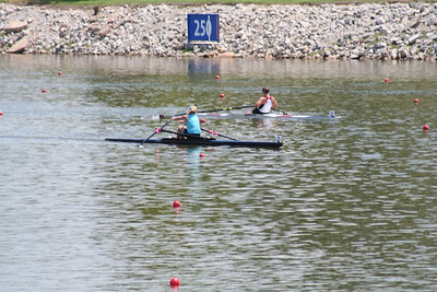 Oklahoma City. 2nd place in the A 1x.