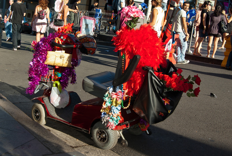 Pride Scooter