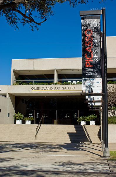 Queensland Art Gallery (QAG), Brisbane Australia