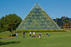 Pyramid Greenhouse in the Royal Botanic Gardens in Sydney