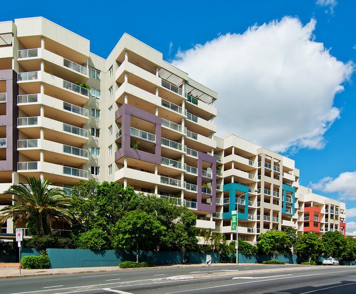 Modern Apartments in Gipps Street, Brisbane