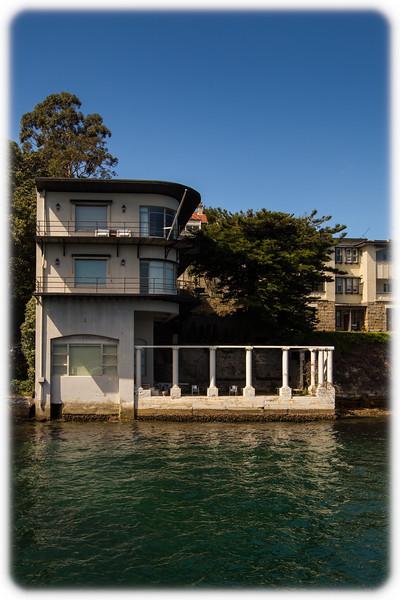 Interesting House at Kurraba Point Ferry Wharf