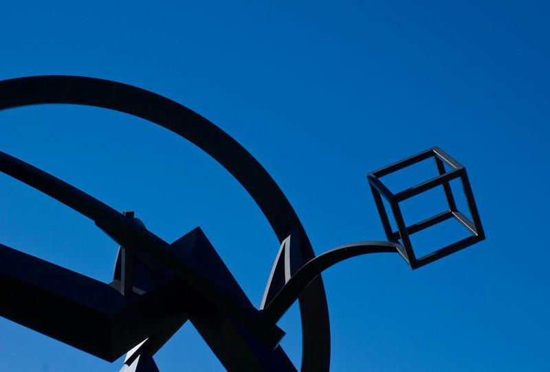 Sculpture Outside  of the Queensland Art Gallery (QAG), Brisbane