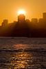 Setting Sun Over North Sydney