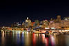 Darling Harbour and Sydney Skyline Just after Sunset