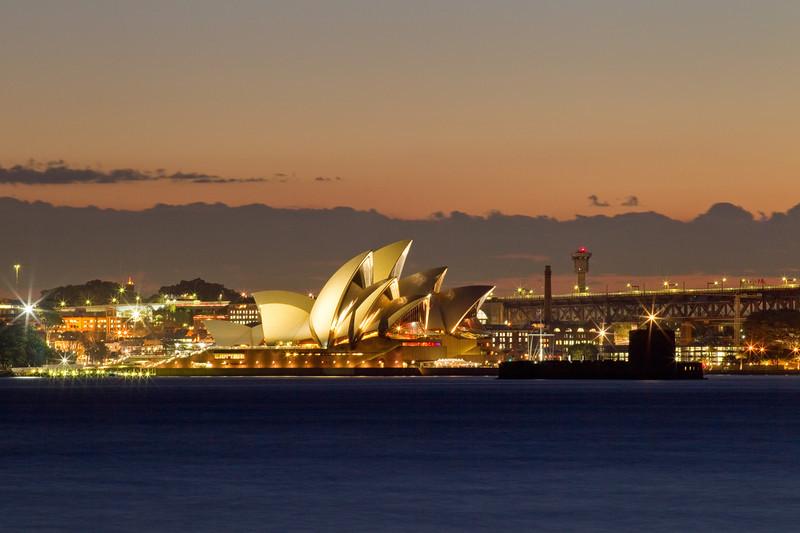 Sydney Opera Hose After Sunset