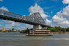 Story Bridge and Kookaburra Queen Paddle Steamer: Brisbane