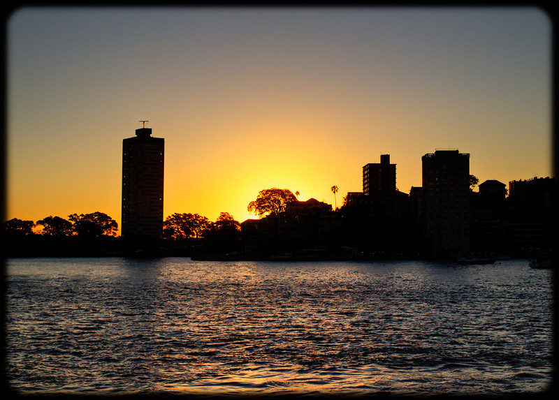 Sunset Over Blues Point Reserve