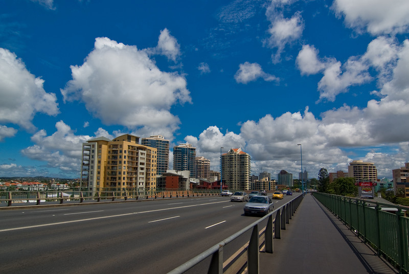 Lunchtime Traffic on the Story Bridge