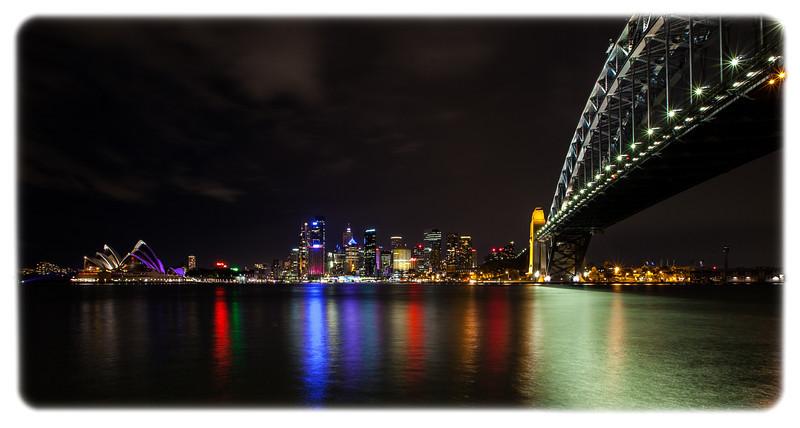 Sydney Harbour Bridge at Night