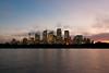 Sydney Skyline Just After Sunset