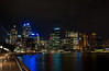 Sydney Skyline and Circular Key Nightscape