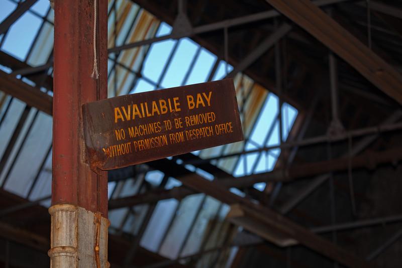 Glebe Tram Sheds: Available Bay