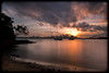 Sydney Sunset from Athol Bay