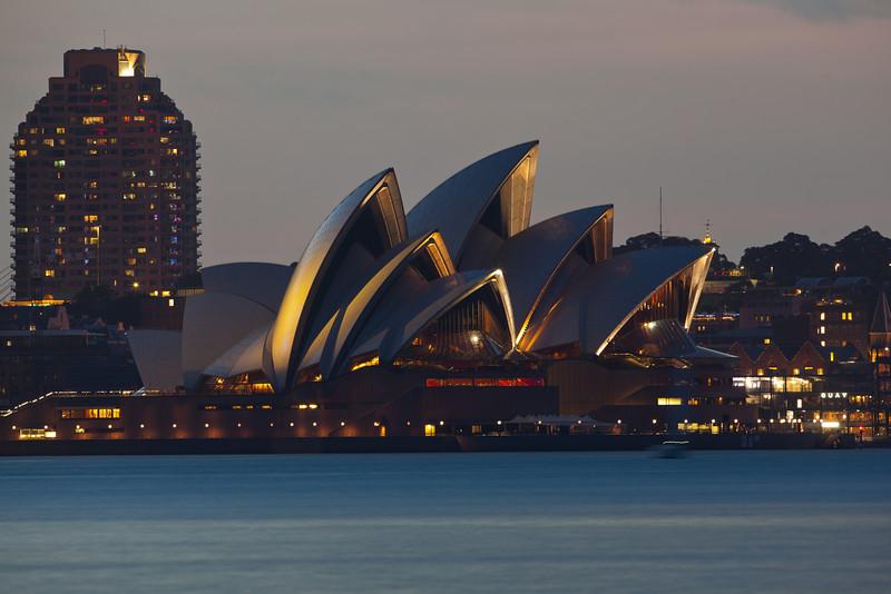 Sydney Opera House from Athol Bay
