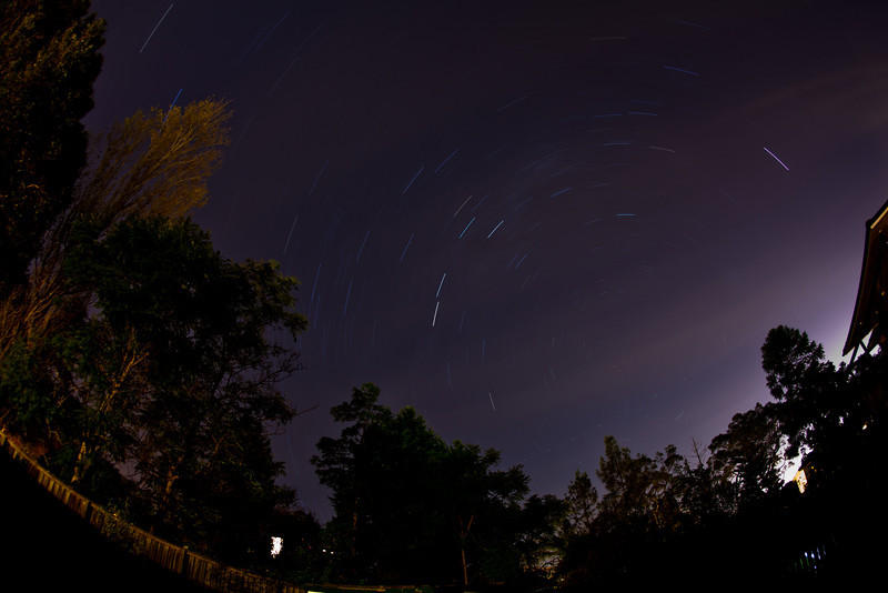 Star Trails Over Balgowlah
