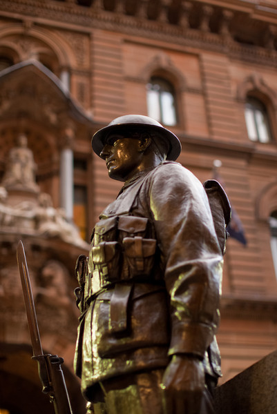 Dedicated in 1927 to commemorate the Anzac landing at Gallipoli