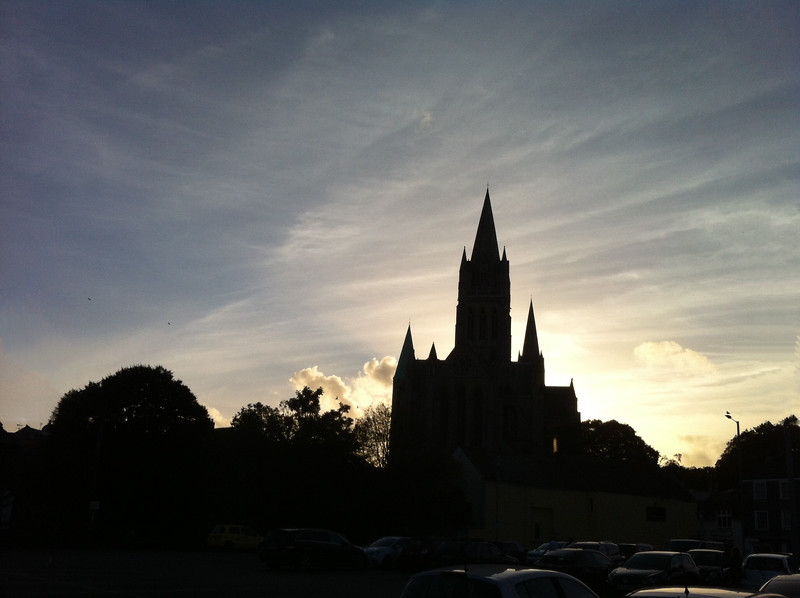 Truro Cathedral  skyline
