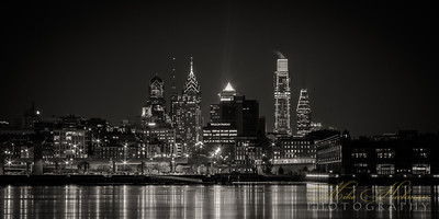 Philly Reflections (Black & White)