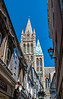 Truro Cathedral from street