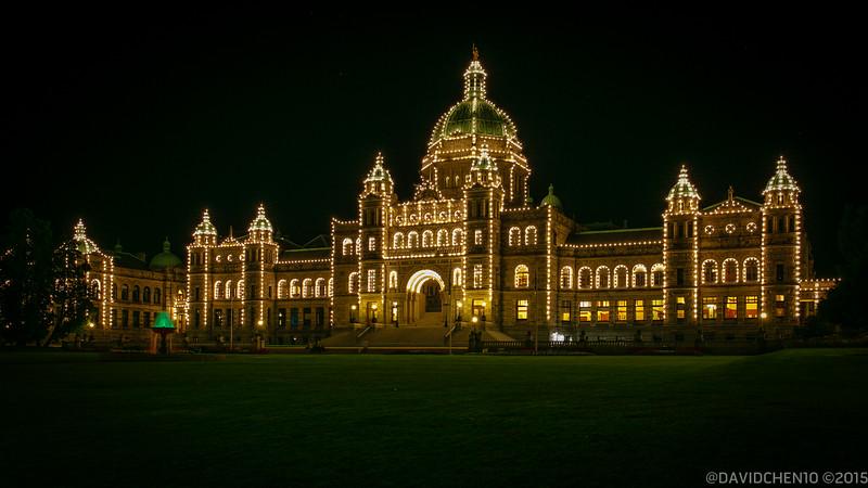 Victoria, BC Parliament Building, 2014