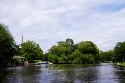 Lucy's Mill Weir, Stratford upon Avon