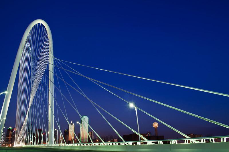 Margaret Hunt Hill Bridge - Dallas, TX