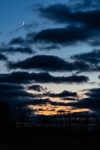 Moon, Venus and Jupiter