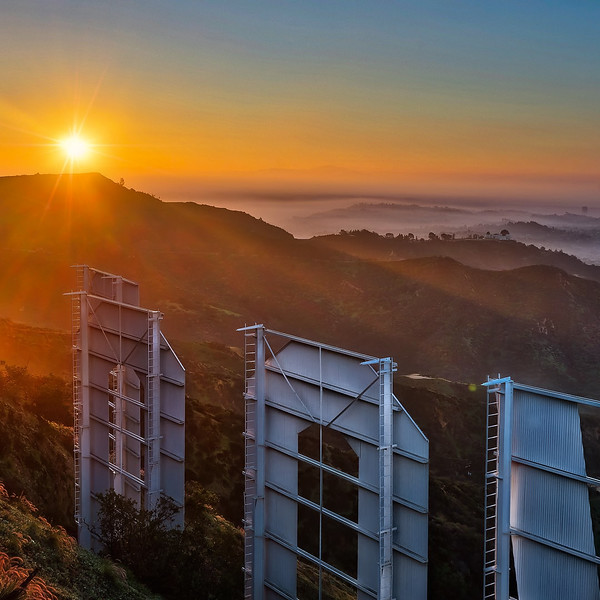 Sunrise Hollywood Sign