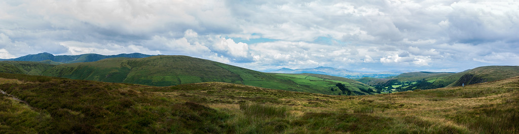 Aran mountains from Bwlch-y-groes